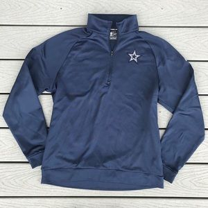 NFL Equipment Dallas Cowboys Circuit Med 1/4 Zip